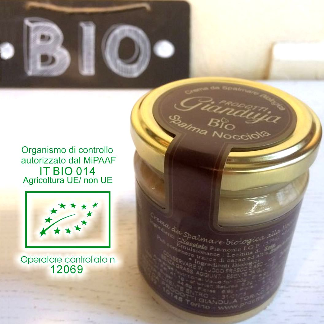Crema spalmabile Biologica> 				    	<!-- <span class=
